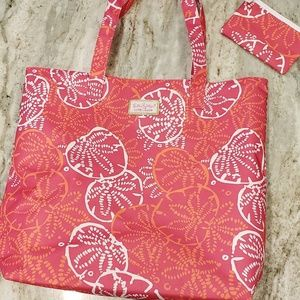 Lilly Pulitzer  NEW.   Tote bag set of 2